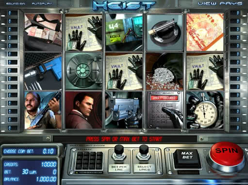 Gamble Heist slot game for free