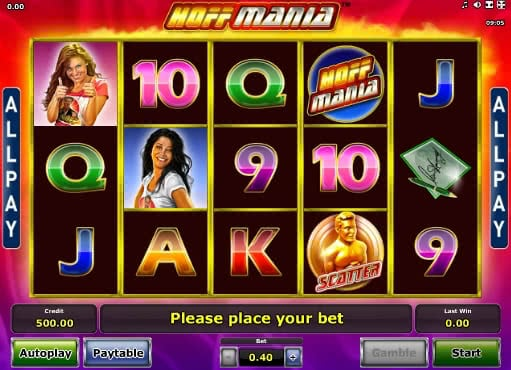 Gamble online Hoffmania slot for free
