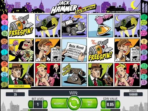 online slot machines for fun hammer 2