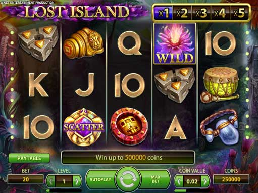 Lost Island Slot Machine Online ᐈ NetEnt™ Casino Slots
