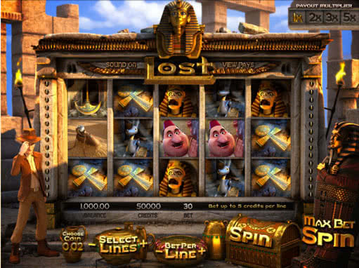 3D Lost slot by WebSlotCasino