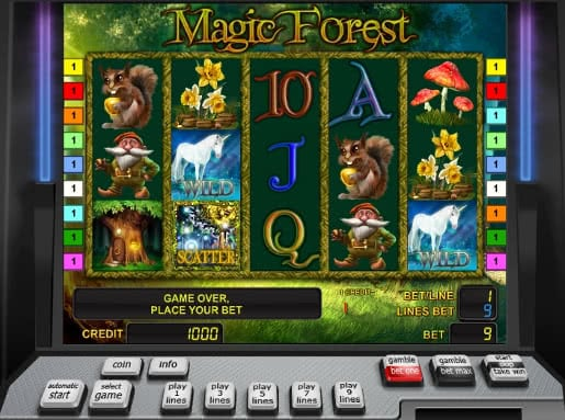 Gamble Magic Forest slot machine online
