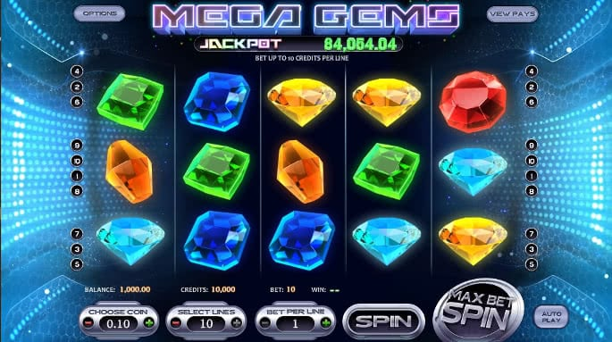 Gamble Mega Gems slot machine online