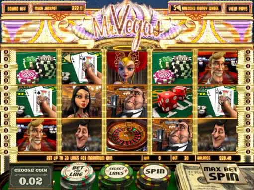 Mr vegas slots machine
