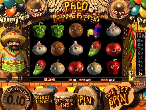 Paco and the Popping Peppers slot