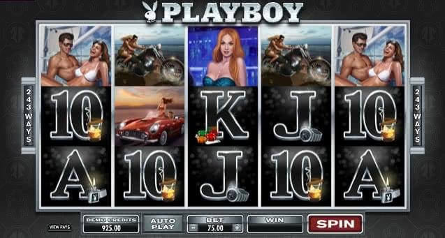 Gamble Playboy slot machine online