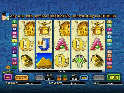 free casino games queen of the nile