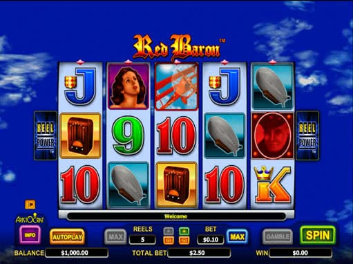 Red Baron slot machine online