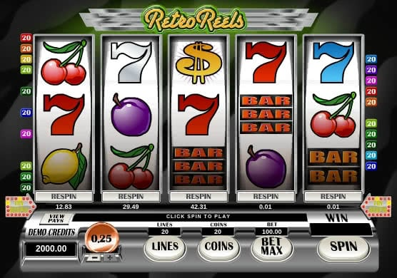 Gamble Retro Reels slot online