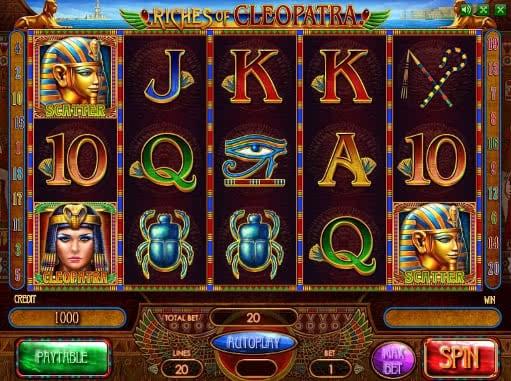 Riches of Cleopatra Slot Machine