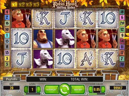 Robin Hood Slot Machine - Find Out Where to Play Online