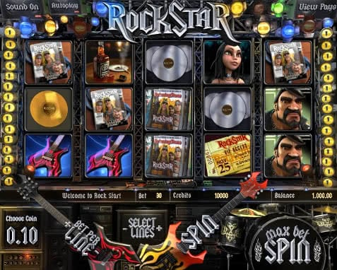 Test Rockstar slot machine online