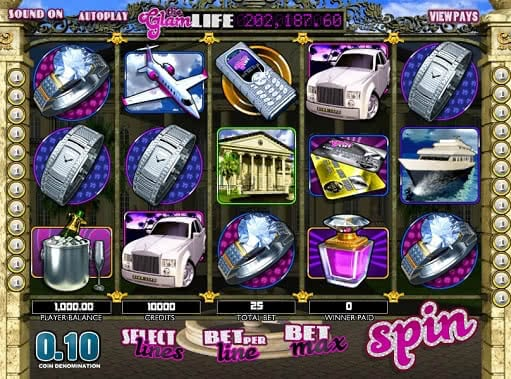 Gamble The Glam Life slot games