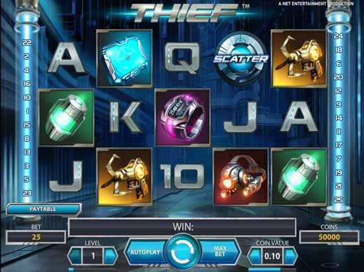 Thief - Adrenalin Packed Free Online Slot