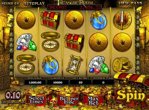 Gamble Treasure Room slot online