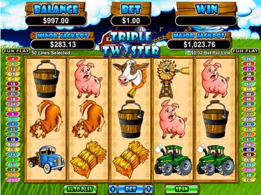 Triple Twister Slot Machine Online ᐈ RTG™ Casino Slots