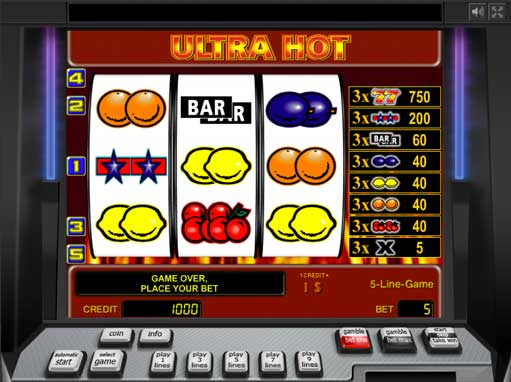 slot machines online free ultra hot online spielen