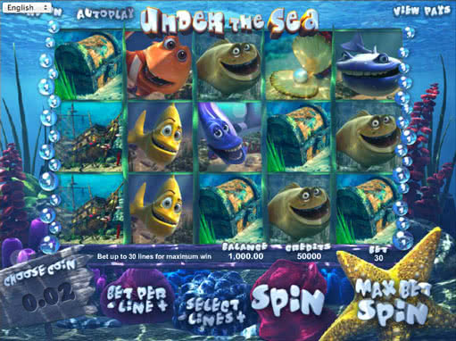 Under the Sea™ Slot Machine Game to Play Free in PartyGamings Online Casinos