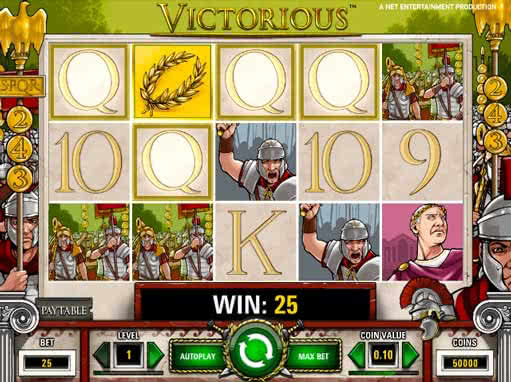 Victorious NetEnt Online Video Slot for Real Money - Rizk