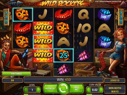 Wild rockets free online slot
