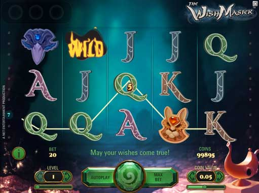 Play The Wish Master for fun