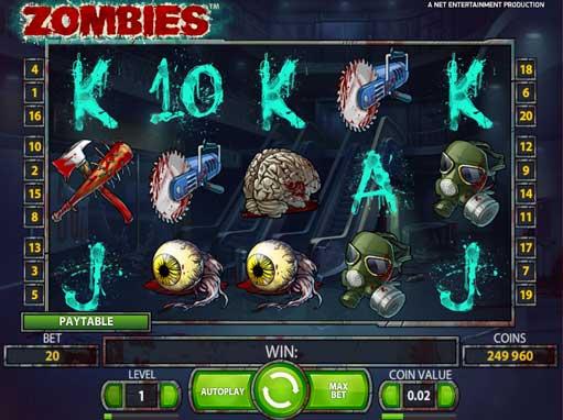 Zombies slots - spil Zombies slots gratis online.