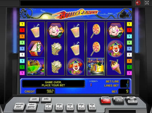 Spiele Roller Coaster - Video Slots Online