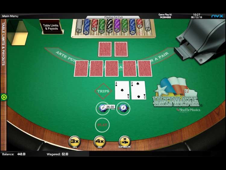 Games Com Texas Holdem
