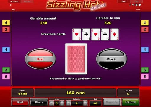 casino online slot sizling hot
